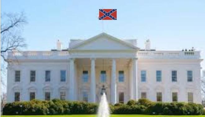 WhiteHouseConfederate FLag